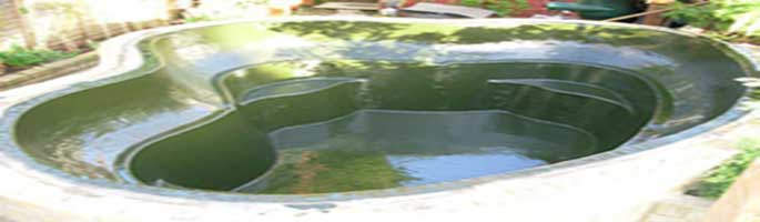 Diadem Construction - GRP Pond and Lining